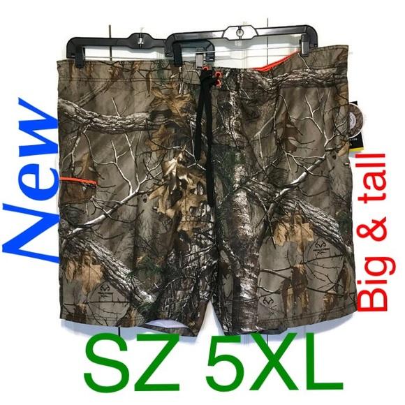 7d1fe35fd7 Realtree Swim | Mens Camouflage Board Shorts Trunksn | Poshmark
